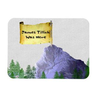 James Tillich Was Here Rectangular Photo Magnet
