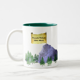 James Tillich Was Here Two-Tone Mug