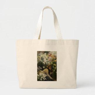 James Tissot Chrysanthemums Bag