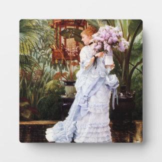 James Tissot Lilacs Plaque