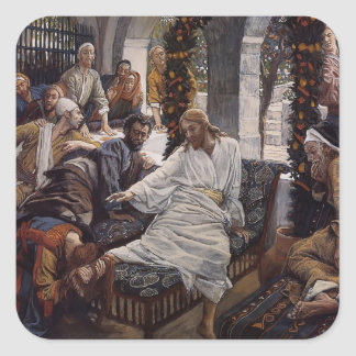James Tissot: Mary Magdalene`s Box of Ointment Sticker