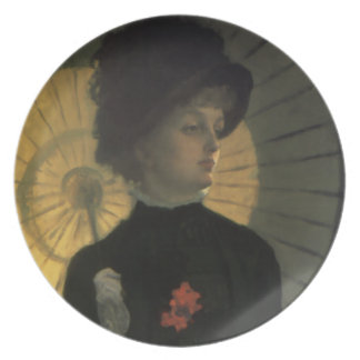 James Tissot Newton Parasol Plate
