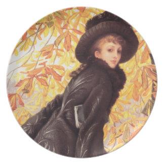 James Tissot October Plate