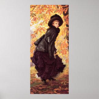 James Tissot October Poster