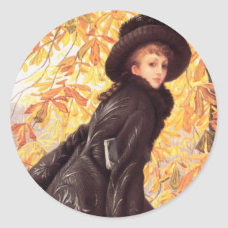 James Tissot October Stickers