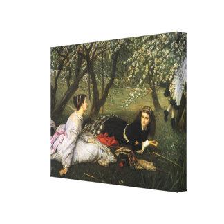 James Tissot Painting Canvas Prints