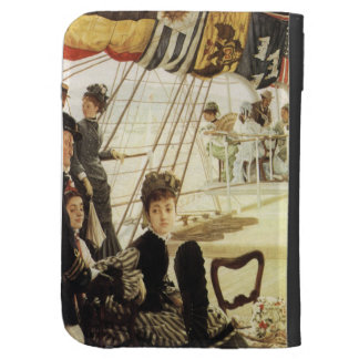 James Tissot Painting Case For Kindle