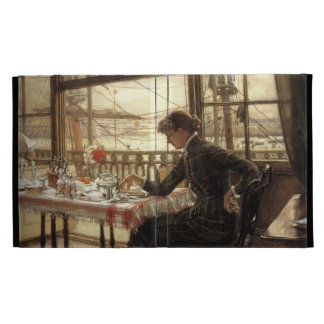 James Tissot Painting iPad Folio Case