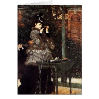 James Tissot Painting Greeting Card