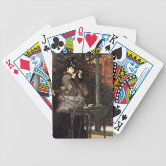 James Tissot Painting Playing Cards