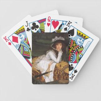 James Tissot Painting Poker Cards