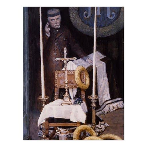 James Tissot: Portrait of the Pilgrim Postcard