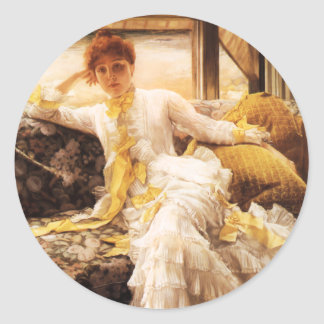 James Tissot Seaside Stickers