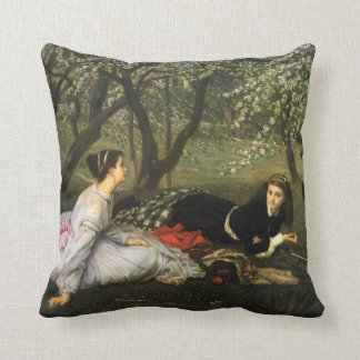 James Tissot Spring Pillow Cushion