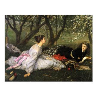 James Tissot Spring Postcard