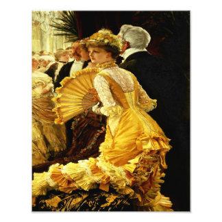 James Tissot The 1800 s Ball Dancing Photograph