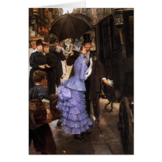 James Tissot The Bridesmaid Note Card