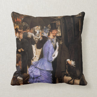 James Tissot The Bridesmaid Pillow Throw Cushions