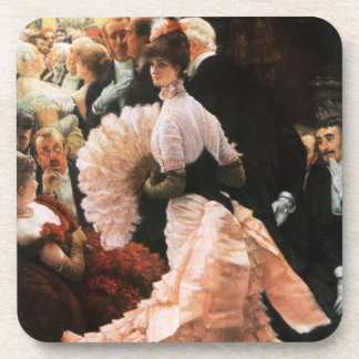 James Tissot The Political Lady Coasters
