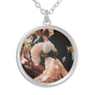 James Tissot The Political Lady Necklace