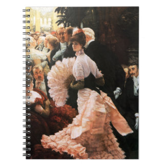 James Tissot The Political Lady Notebook