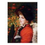 James Tissot Type of Beauty Poster