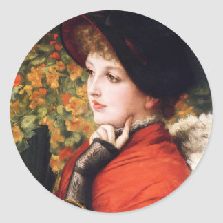James Tissot Type of Beauty Stickers