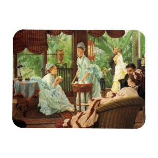 James Tissot Victorian Tea Party Magnet