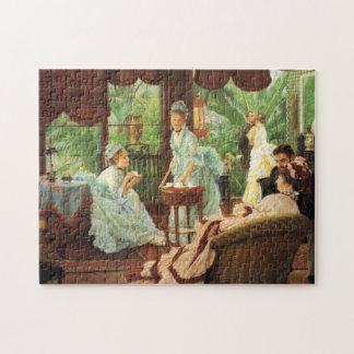James Tissot Victorian Tea Party Puzzle