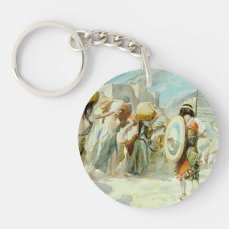 James Tissot:Women of Midian Led Captive by Hebrew Keychains