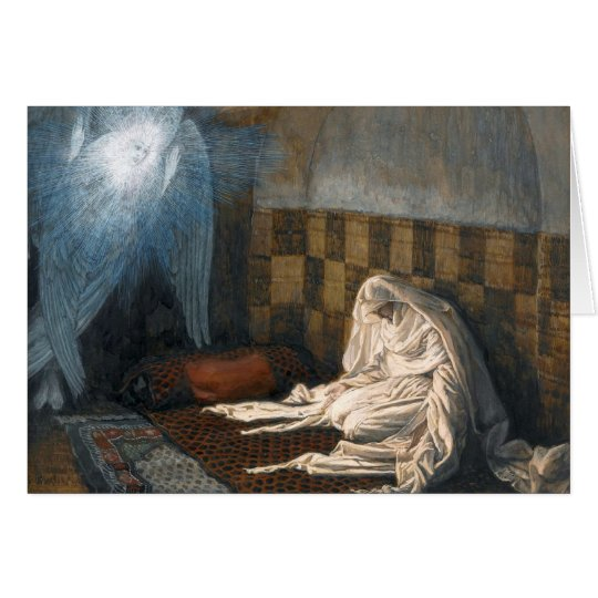 """James Tissot's """"The Annunciation"""" Advent/Christmas Card"""