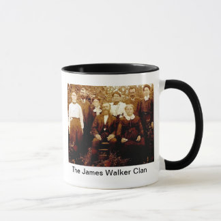 James Walker Clan mug