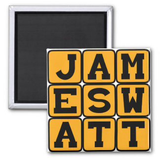 James Watt, Scottish Inventor Magnets