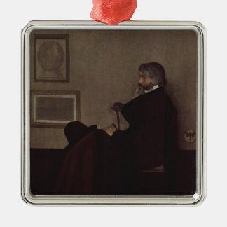 James Whistler- Arrangement in Grey and Black Ornament