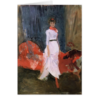 James Whistler- Arrangement in Pink Red Purple Greeting Cards