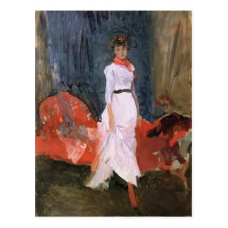 James Whistler- Arrangement in Pink Red Purple Postcard