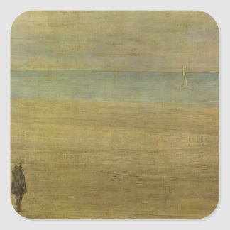 James Whistler-Harmony in Blue & Silver:Trouville Sticker