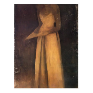 James Whistler- Harmony in Brown The Felt Hat Post Card