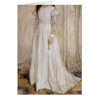 James Whistler-Portrait of Joanna Hiffernan Greeting Cards