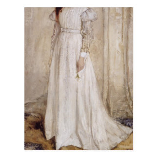 James Whistler-Portrait of Joanna Hiffernan Post Card