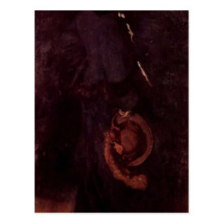 James Whistler-Portrait of Miss Rosa Corder Postcards