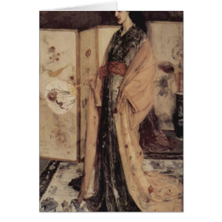 James Whistler-Princess from the Land of Porcelain Cards