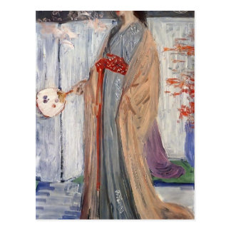 James Whistler-Princess from the Land of Porcelain Postcards