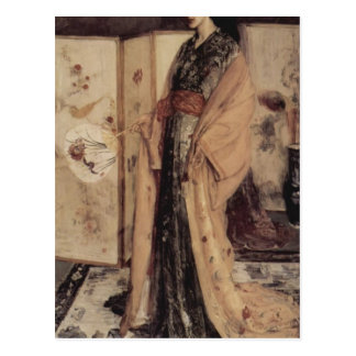 James Whistler-Princess from the Land of Porcelain Postcard
