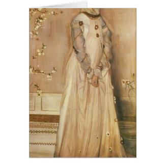 James Whistler- Symphony in Flesh Colour and Pink Greeting Cards