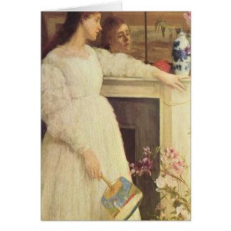 James Whistler-The Little White Girl Cards