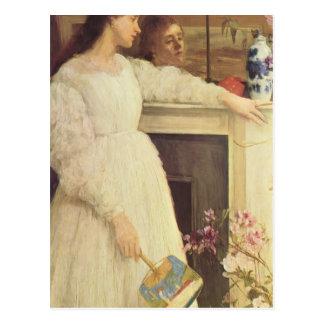 James Whistler-The Little White Girl Post Card