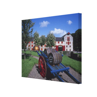 Jamesons Whisky Heritage Centre, Midleton, Canvas Print