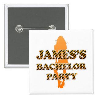 James's Bachelor Party Pin