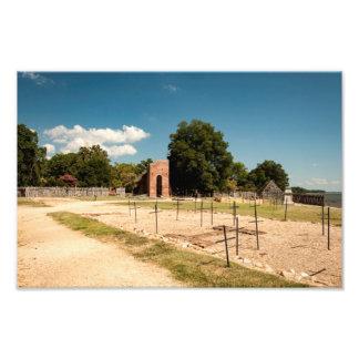 Jamestown Church Photograph